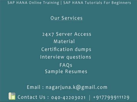 sap tutorial beginners ppt sap hana sap s 4hana online training