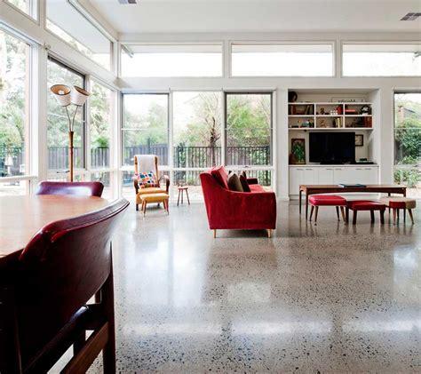 pavimenti zona giorno foto calcestruzzo levigato pavimento moderno