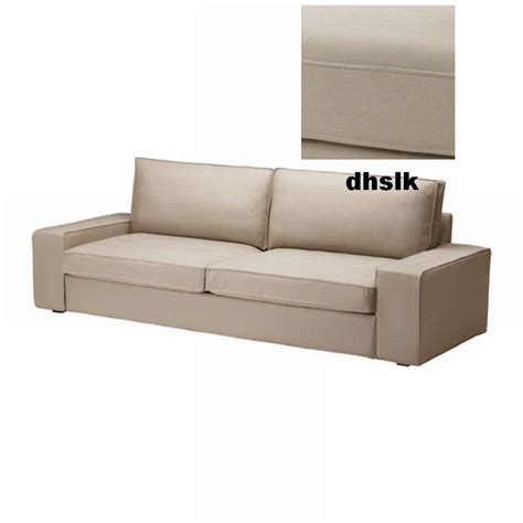 slipcovered sofa bed ikea kivik sofa bed slipcover sofabed cover dansbo beige