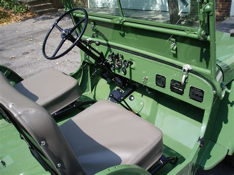 willys jeep interior 1946 willys jeep cj2a 61380