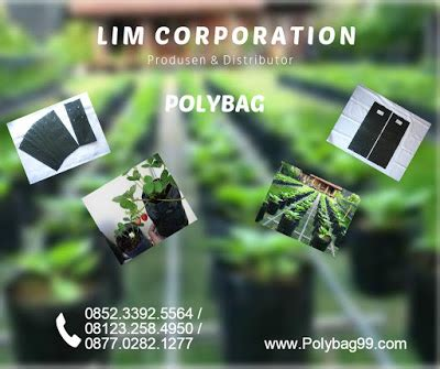 Jual Polybag pabrik dan distributor polybag jual plastik polybag harga