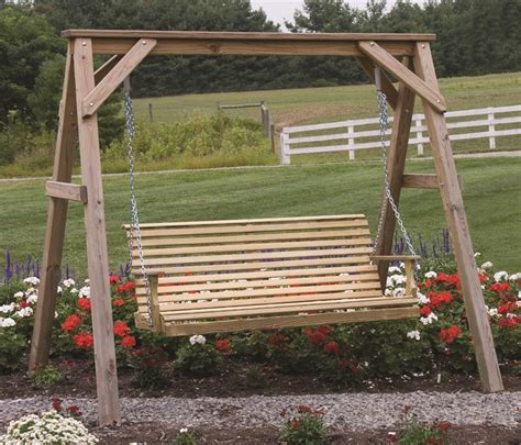 wooden a frame for swing tree houses porch swings frames on pinterest tree