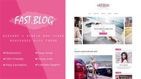 blog theme smartblog smartfast a wordpress blog theme themes templates