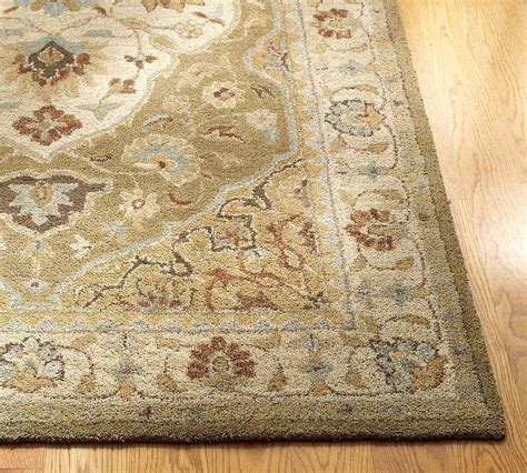New Pottery Barn Handmade Persian Hayden Area Rug 5x8 Pottery Barn Area Rugs