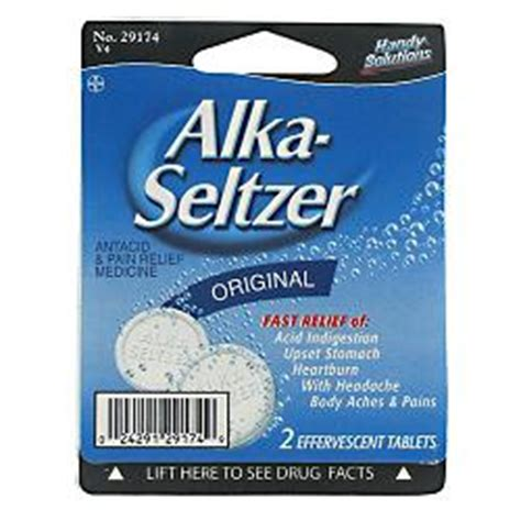 How Does Alka Seltzer Gold Help Detox by Navajo Manufacturing Company Alka Seltzer 2 Tablets