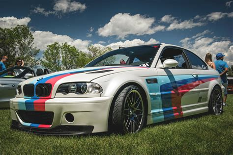 Bmw Motorrad Denver by Bmw E46 M3 In M Colors At The Denver Concourse The