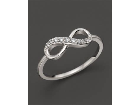 kc designs infinity ring in 14k white gold 10 ct