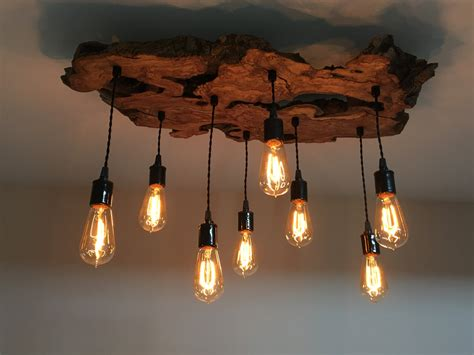 Custom Made Light Fixtures Custom To Order Create Your Own Medium Live Edge Olive Wood