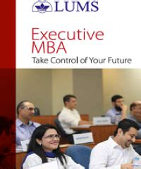 Lums Pakistan Mba by Publications Lums