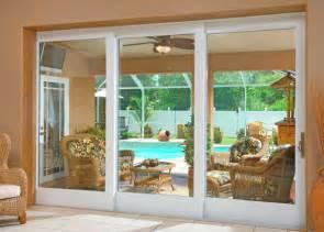 panel sliding glass patio