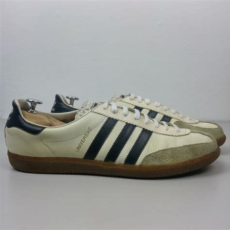 New Adidas Made In Black White adidas originals universal made in yugoslavia vintage 1980 s black white leather suede retro