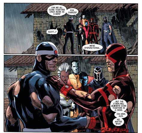 Kaos Justice League Superman Batman The Flash Green Lantern havok and cyclops reconcile comicnewbies