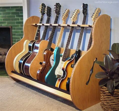 Multi Guitar Wall Rack by The Session Deluxe Guitar Stands