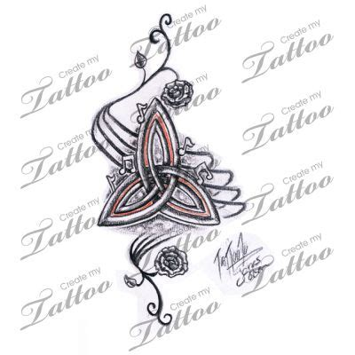 celtic love knot tattoo designs meanings triquetra tattoos knot celtic symbol meanings