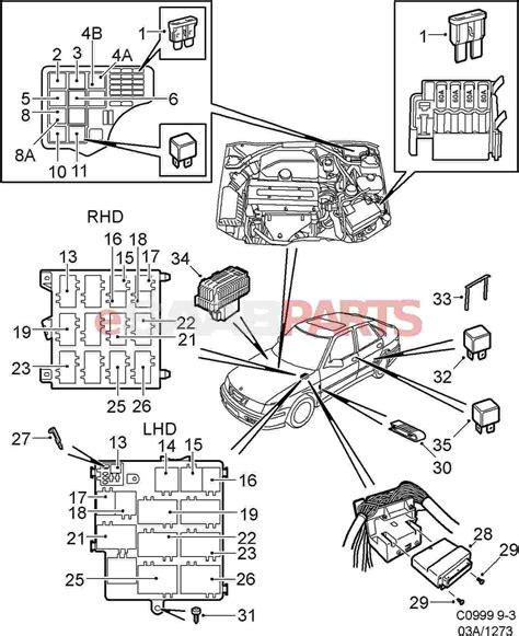4947115 Saab Relay Saab Parts From Esaabparts Com
