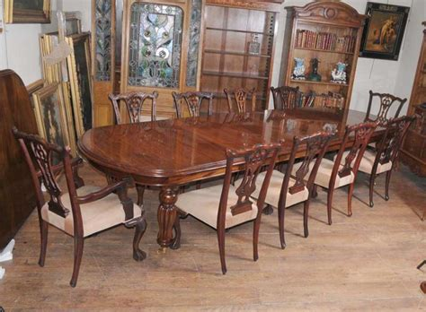 victorian dining room furniture victorian dining table set chippendale chairs set suite
