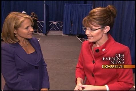 katie couric palin sarah palin roasts katie couric as she quits cbs news