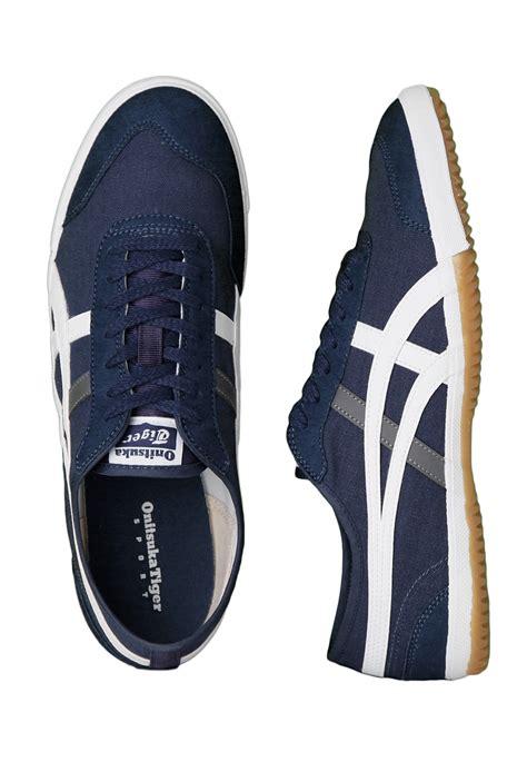 rocket shoes onitsuka tiger retro rocket cv navy white shoes