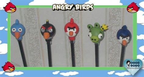 Haver Non Kupas By A D Bird lembrancinha ponteira p l 225 pis angry bird no elo7 buzu