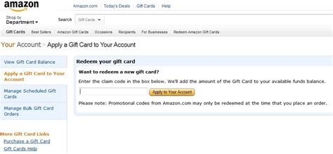 Gift Card Amazon Balance - check balance of amazon gift card how anandtech forums