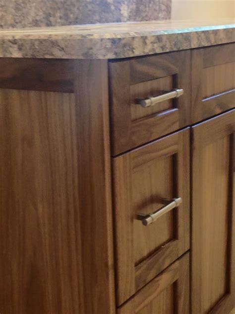 natural walnut kitchen cabinets natural wood kitchen cabinets hanover cabinets moose jaw