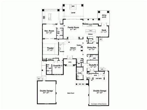 mediterranean home plans with courtyards mediterranean house plans with pictures mediterranean