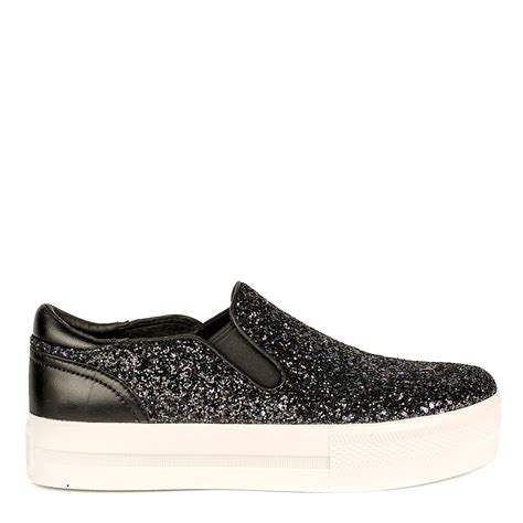 ash shoes blue glitter coated jungle trainers from ash footwear are