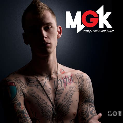machine gun kelly tattoos machine gun lace up cool design tattoomagz