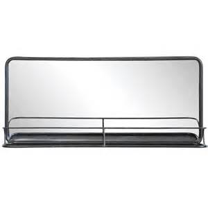 metal mirror w shelf wide da4676