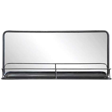 Metal Mirror w/ Shelf   Wide / 28 DA4676