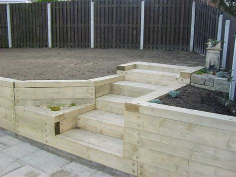 Garden Sleeper Ideas Magic Garden S Landscaping With Railway Sleepers Food Food Food Glorious Food