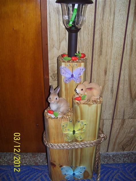 Rabbit Solar Light Crafts We Did Pinterest Solar Solar Lights For Crafts