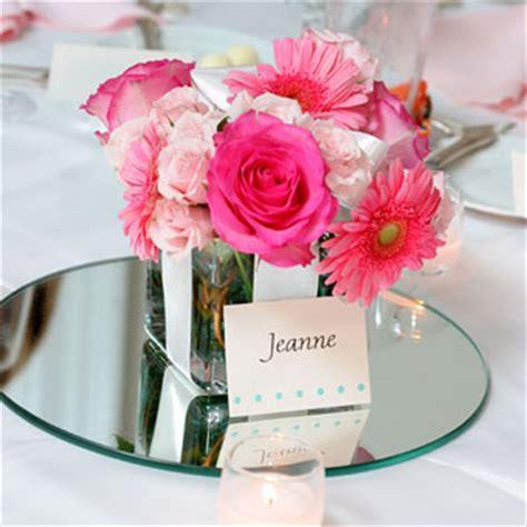 Square Mirror Vases Weddings by Daisies Wedding Flowers Photos Brides