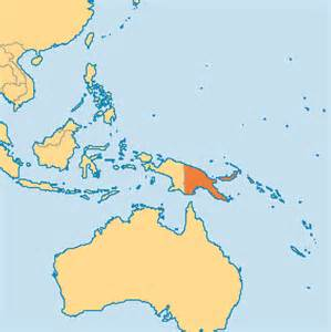 New Guinea On World Map by Papua New Guinea Map Submited Images