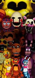 Five nights at freddy s all the gang by abakura deviantart com on