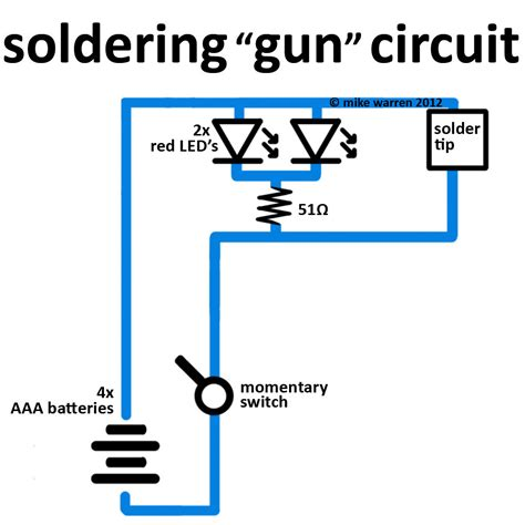 soldering gun wiring diagram wiring diagram manual