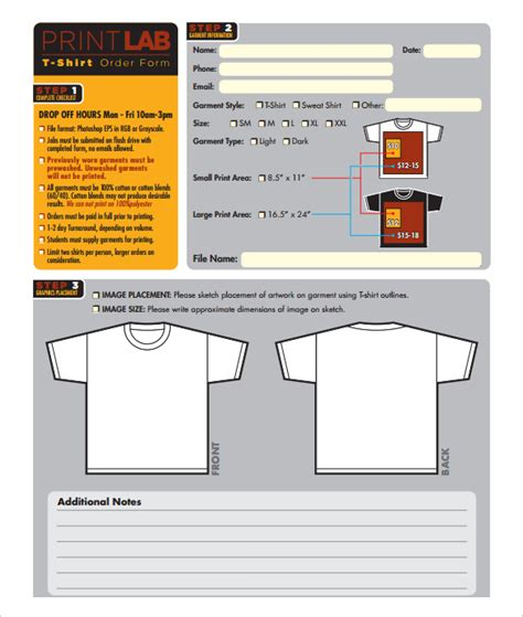 custom t shirt order form template 26 t shirt order form templates pdf doc free