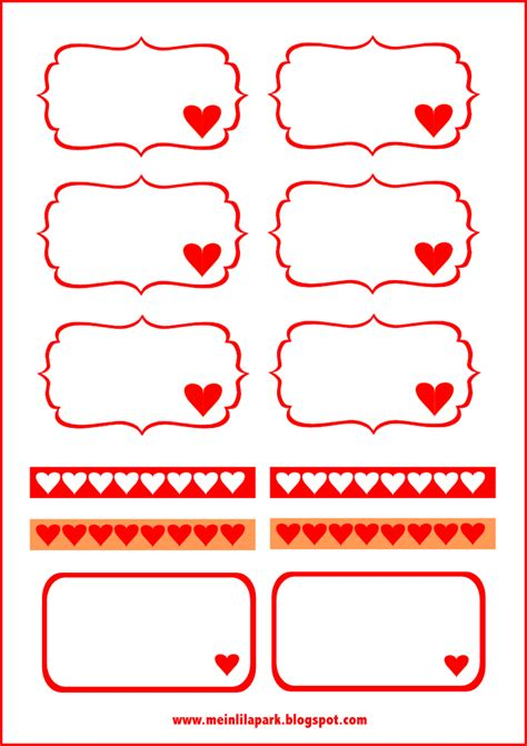 printable paper tags free digital heart scrapbooking paper and tags papier