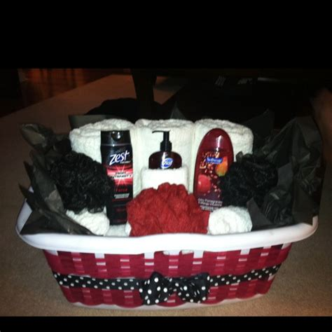 laundry gift basket with bath towels hand towels washcloths etc i made it for my cousins