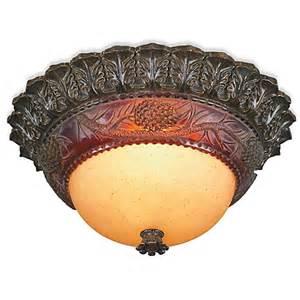pine cone lights buy pacific coast lighting 174 pine cone glow 2 light flush