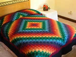 trip around the world quilt wonderful cleverly made