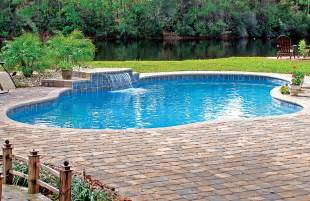 Home Design Estimate cascade waterfalls blue haven custom swimming pool and