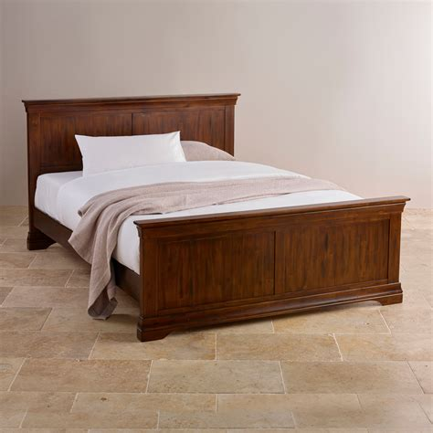 king size bed furniture victoria king size bed in solid acacia oak furniture land