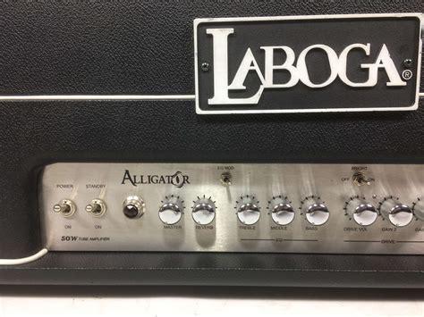 testata valvolare lificatore chitarra laboga ad5200s alligator testata