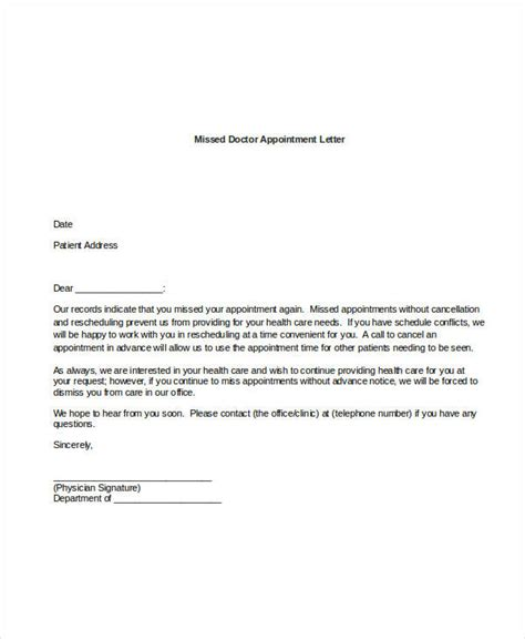 doctor appointment leave letter doctor appointment letter tolg jcmanagement co