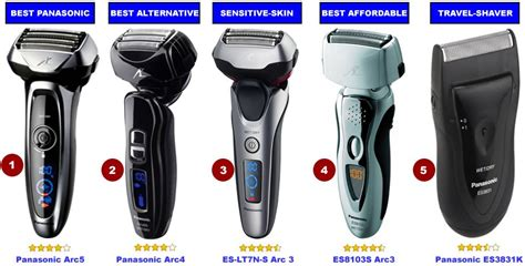 best panasonic 5 best panasonic electric shavers men s razors 2018