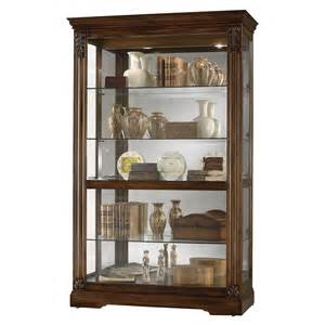 Howard Miller Curio Cabinets Howard Miller 680473 Ramsdell Curio Cabinet Atg Stores
