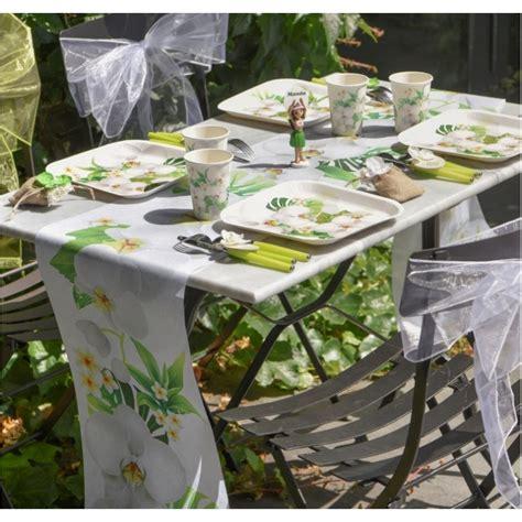 chemin de table intisse chemin de table orchid 233 e en intiss 233 5 m achat chemins de table f 234 tes