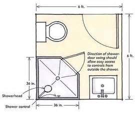 Bathroom Blueprints Corner Shower For A Small Bathroom Designing Showers For