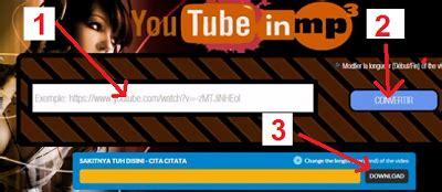 buat youtube jadi mp3 cara membuat video youtube jadi mp3 bagipedia